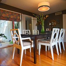 Midcentury Dining Room by Sarah Greenman