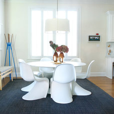 Contemporary Dining Room by Hilary Walker