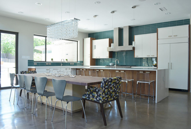Contemporary Kitchen by Sarah Greenman