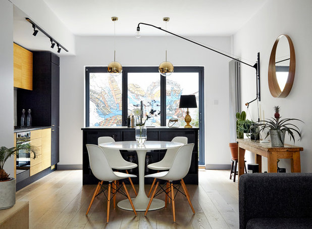 Contemporary Dining Room By House Of Sylphina
