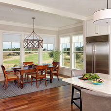 Beach Style Dining Room by Structures Building Company
