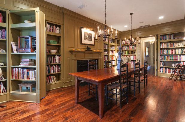 Traditional Dining Room by Bill Huey + Associates