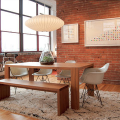 modern dining room by Adrienne DeRosa