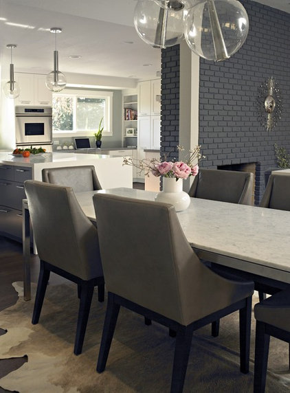 contemporary dining room by Fiorella Design