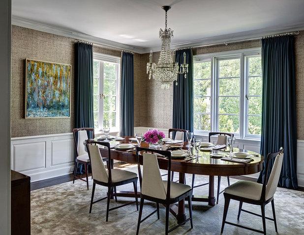 Современная классика Столовая by Fearins | Welch Interior Design