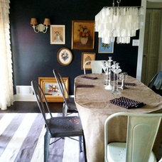 Eclectic Dining Room by Julie Holloway