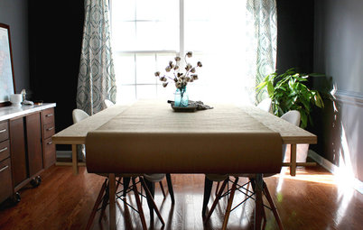 Room of the Day: No Gloom in This Moody Dining Room