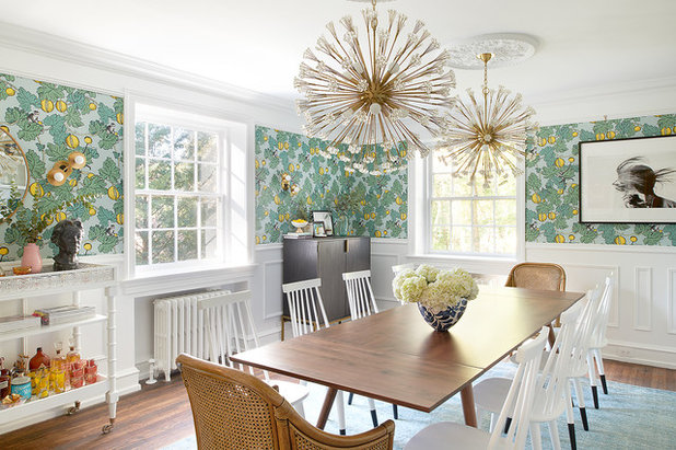 Eclectic Dining Room by Michelle Gage | Interior Designer
