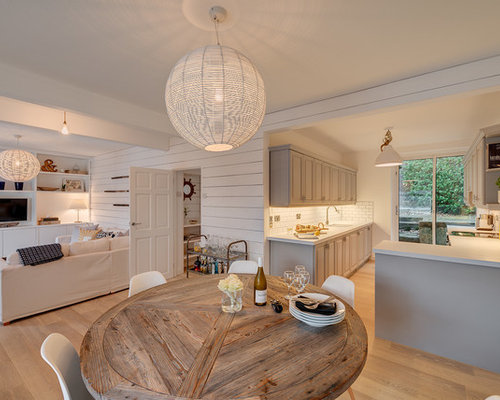 This Is An Example Of A Nautical Dining Room In Devon