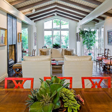 Contemporary Dining Room by Victor Myers Custom Homes & Real Estate