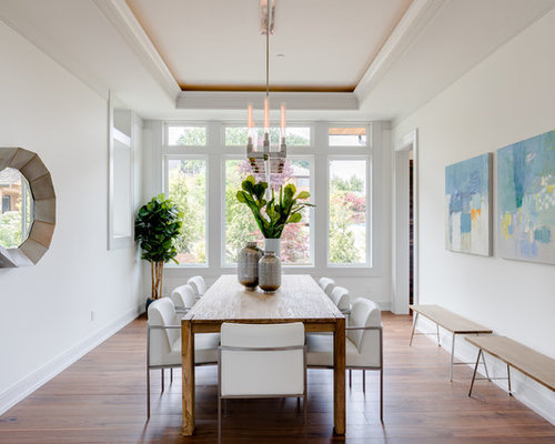 Dining Room Contemporary Custom Contemporary Dining Room Ideas & Design Photos  Houzz Inspiration