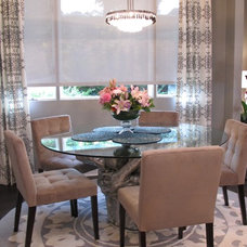 Eclectic Dining Room by Tonya Hopkins Interior Design