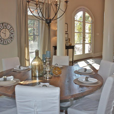Contemporary Dining Room by Ally Whalen Design
