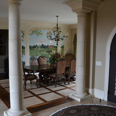 Traditional Dining Room by Wolfe Homes