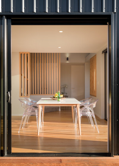 Contemporary Dining Room by Barry Connor Design