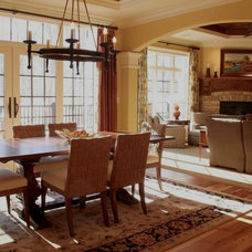 Traditional Dining Room by Collaborative Design