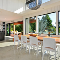 modern dining room by Dawna Jones Design