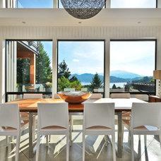 Modern Dining Room by Dawna Jones Design