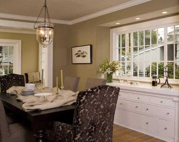 Traditional Dining Room by Kayron Brewer, CKD, CBD / Studio K B
