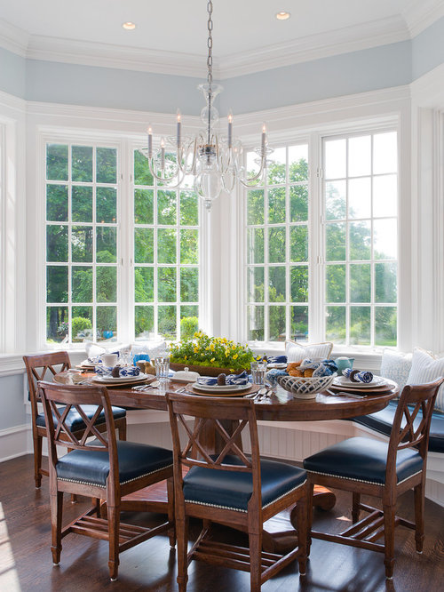 Formal Dining Room Bay Window