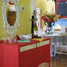 Eclectic Dining Room by Dear Daisy Cottage