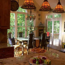 Mediterranean Dining Room by Debbiedoo's