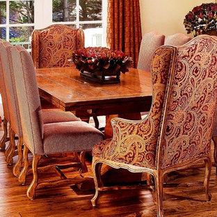 Elegant dining room photo in Seattle