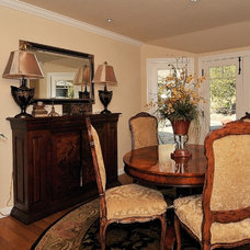 Traditional Dining Room by Debra Campbell Design
