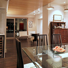 Contemporary Dining Room by Hagan Architects, Inc.