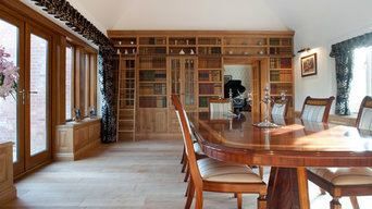 DecBOOKS Traditional False Books in Dining Room