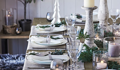 How Do I... Choose Glassware for My Christmas Table?