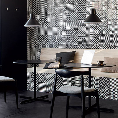 Inspiration for a dining room remodel in Seattle