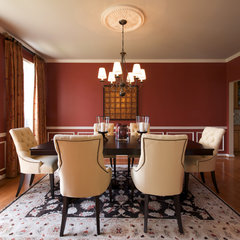 traditional dining room by Decor by Denise