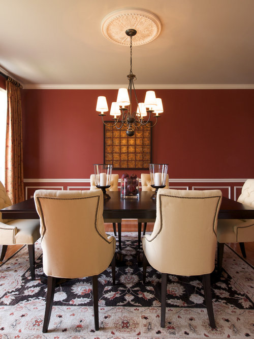 Red Dining Room | Houzz