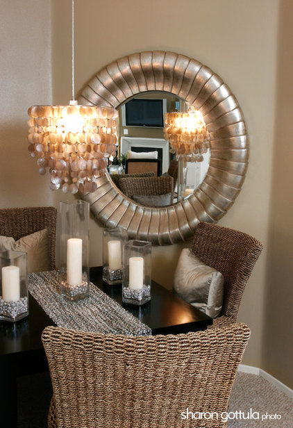 Contemporary Dining Room by Sharon Gottula Photography