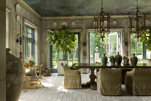 Contemporary Dining Room by Artstar Custom Paintworks