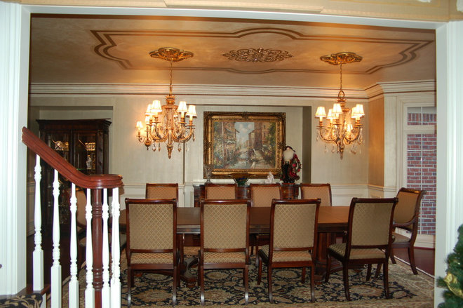Traditional Dining Room by Fabulous Finishes Inc