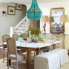 Traditional Dining Room by Meg Adams Interior Design