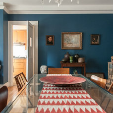 Eclectic Dining Room by Amy Krane Color