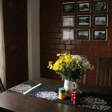 Dining Room Deepa and Sriram Eco Friendly home in Bangalore