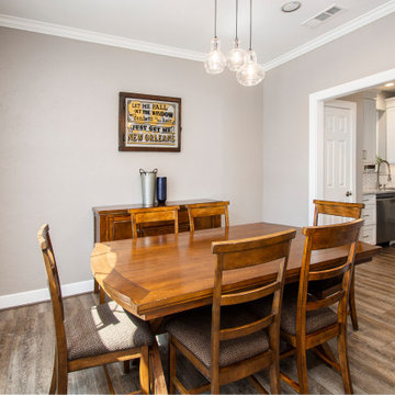 Deering Ct. Kitchen, Living Room and Addition