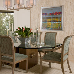 contemporary dining room by REGINA KURTZ
