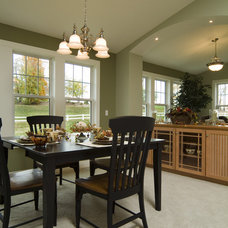 Traditional Dining Room by Rivertown Homes by Design