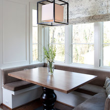 Dining Table With Bench Against The Wall
