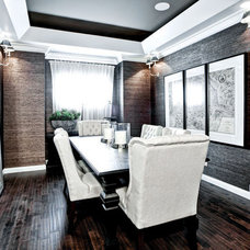 Contemporary Dining Room by Shane Homes Ltd.