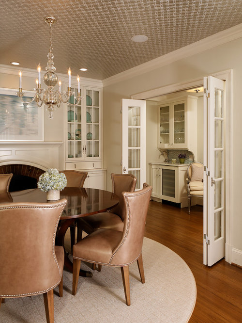 French Doors Between Kitchen And Dining Room