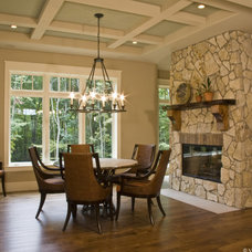 Traditional Dining Room by Falcon Custom Homes