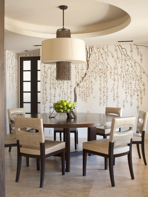 Paint a tree on wall home design ideas pictures remodel for Modern dining room paint ideas