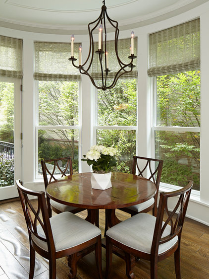 Traditional Dining Room by Burns and Beyerl Architects