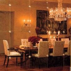 Traditional Dining Room by David Scott Interiors